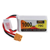 ZOP Power 14.8V 1000mAh 70C 4S Lipo Battery XT60 Plug for GEPRC CineRun HD3 3 Inch 3-4S CineWhoop