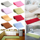 120x40cm Absorbent Long Memory Foam Carpet Door Floor Mat Bedroom Bathroom Kitchen Bath Non Slip Rug