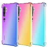 Bakeey Gradient Color a prueba de golpes Soft TPU Protector Caso para Xiaomi Mi Note 10 / Xiaomi Mi Note 10 Pro / Xiaomi CC9 Pro