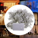 AC110V 300LED Curtain Fairy String Light Window Christmas Wedding Party Decor Lamp US Plug