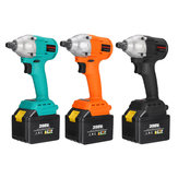 398VF 680NM 1/2 inch Electric Impact Wrench Brushless Power Repair Tools w/ 2pcs 39800mAh Li-ion Batteries