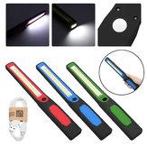 Smukła lampa robocza LED Latarka LED Akumulator Magnetyczna lampa USB Latarka