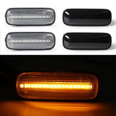 LED-Seitenmarkierungsleuchten Blinkerleuchten gelb für Honda Civic 1996-2000 CR-V 1997-2000