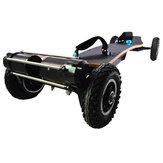 JKING H2C-01 2x1650W 36V 10AH 10S5P Motor sem escova Dual Cinto Skate off-road do motor 10000mAh Bateria Skate elétrico de 4 rodas 200kg Carga útil 200kg Carga útil 38 km / h Velocidade máxima