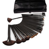 32 STK Professionell Fiber Makeupborstar Set Cosmetic Brush