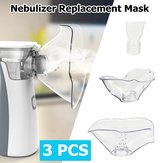 3Pcs/set Nebulizer Replacement Mask For Ultrasonic Nebulizer Atomiser Child Adult Respirator