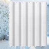 Imperméable blanc rideau de douche salle de bain drapé hôtel décor à la maison mode