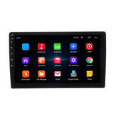 10.1 Inch Coche Estéreo Radio Reproductor multimedia Pantalla táctil GPS Wifi bluetooth FM AM DSP para Android 8.1 1 Din 4 Core 1 + 16G