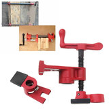 Wood Gluing Pipe Clamp Set Pipe Clamp for Metal Plastic Water Pipe Woodworking Clamp
