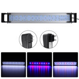16W 60cm LED Аквариум Fish Tank Timing Fish Lights Submersible Растение Расти