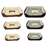 Large Pet Dog Warm Nest Bed Puppy Cat Soft Fleece Cozy Mat Pad Kennel Cushion Pet Mat