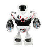 YILE R1 ABS Smart Music Dancing RC Robot Toy With Shining Light Prezent dla dzieci