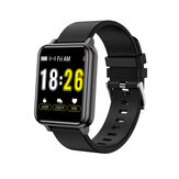 Bakeey T10 Full Touch Screen Female Physiological Monitor 10 Sport Modes Weather Display Smart Watch