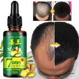 Hair Growth Essential Oil Loss Natural Ginger Ginseng Regrowth Serum   US