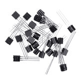 500pcs BC547+BC557 Each 250pcs BC547B BC557B NPN PNP Transistor TO-92 Power Triode Transistor Kit Bag