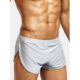 Heren Arrow Shorts Casual Sport Home Lage taille Losse comfortabele effen boxers