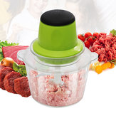 2L Electric Meat Grinder Kitchen Vegetable Fruits Cooking Grinders Tool 220V Domestic Multi-Function Electric Meat Chopper Mincer Auxiliary Feeding Machine