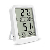 Bakeey Wall Mounted Large Screen Portable Digital Thermometer High Accuracy Outdoor Indoor Tester Weather Station Hygrometer