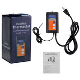 Digital Heat Mat Thermostat Controller for Seed Germination Reptiles and Brewing Breeding Incubation Greenhouse