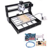 Versão offline 1610 PRO Roteador CNC de 3 Eixos Controle GRBL DIY Eixo de Velocidade Ajustável Laser Fresadora de gravura em madeira do motor
