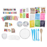 Making Kits Supplies For Slime DIY Handmade Color Foam Ball Loose Beads Granules Slime Making Material Set