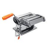 Hand Crank Thép không gỉ Fresh Pasta Maker Máy lăn cho Spaghetti Noodle Tools Kit