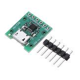 3pcs HW-728 CH340E MSOP10 Module de conversion USB vers TTL PRO MINI Downloader