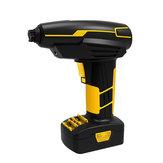 Enusic ™ 150PsiI 25L / min sans fil Pompe à air portable Affichage numérique Gonfleur Voiture Moto Vélo Auto 12V 120W 10A 22 Cylindre