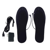 Cuttable Breathable Deodorant 40℃-50℃ USB Electric Heating Insole Winter Warm Insoles Foot Heater