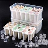 Baby Kids Family Herbruikbare Frozen Ice Mold Homemade DIY Ice Cream Yoghurt Juice Fruit met Lock Deksels