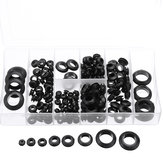 Suleve™ MXRW5 180Pcs Rubber O Ring Washer Grommets Ring Anti-slip Gasket Seal Assortment Set