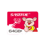 SASTFOE Year of the Pig Limited Edition U3 64GB TF Memory Card