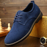 Original              Pointed Toe Casual Soft Suede Business Office Oxfords