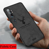 Bakeey Deer Luxury Canvas Cloth Shockproof Anti-fingerprint Protective Case for Xiaomi Mi Note 10 / Xiaomi Mi CC9 PRO