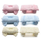 Newborn Baby Head Support Pillow Shaping Infant Cotton Anti Roll Pillow Sleep Positioner