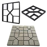 DIY Pavement Paving Molds Concrete Stepping Driveway Stone Path Mold Maker Cement Bricks Mould