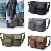 Heren Dames Casual Nylon Schoudertas Handtas Messenger Crossbody Tote