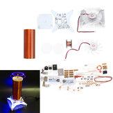 Kit modulo bobina di Tesla fai-da-te Mulino a vento a ioni Bobina di Tesla Tecnologia ZVS Parti di produzione di elettronica fisica
