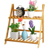 Wood/ Bamboo/ Shelf Flower Pot Plant Stand Rack Garden Indoor Outdoor Patio