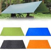 210x150 cm campeggio Tampone da picnic Tenda anit-UV Tarp Pioggia Ombrellone Riparo amaca