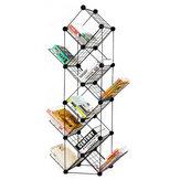 7/9 Tiers Multilayer combinatie smeedijzeren boekenplank bestand houder opbergrek boekenkast opslag plank organisator Home Decoraties