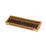 Holzrahmen Classic Alter Taschenrechner Abacus Soroban Plastics Bead Toy Entwickeln Sie die Mathematik-Intelligenz-Entwicklung für Kinder
