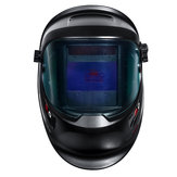 Upgrade Wide Screen Solar Welding Helmet Auto Darkening Tig Mig Welder Mask Cap