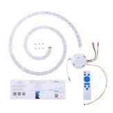 Plafonnier 40W Bluetooth LED Panneau Blanc chaud Blanc froid RVB AC90-245V avec télécommande