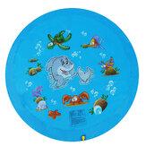 68 inch Kid Zwemmen Luchtbed Water Splash Mat Outdoor Water Speelkleed Waden Speelgoed