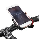 GIYO Aluminum Alloy Rotatable Bicycle Bike Phone Holder MTB Mountain Road Bike Handlebar Clip Holder Bike Bicycle Accessory Tool