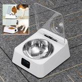 Infra-Red Sensor Automatic Pet Feeder Stainless Steel Bowl Dispenser Smart Dish
