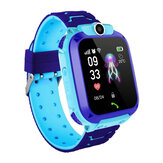 Z5 1.4in GPS Positionering HD Camera Spraakbericht SOS Anti-verloren kinderen Smart Watch Telefoon LED Touchscreen Waterdicht Zaklamp Onafhankelijk kiezen Slimme armband voor kinderen