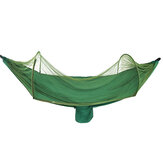 Outdoor Camping Hammock 2 Person 210T Nylon Visící Swing Bed Mosquito Net Max Load 200kg