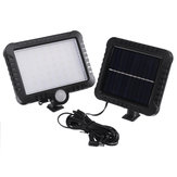 56 LED 50W Solar Street ضوء PIR Motion المستشعر Security Lamp Outdoor Outdoor Garden
